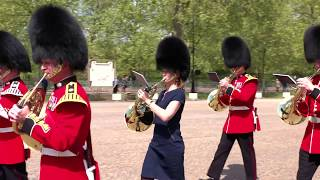 Sarah Willis takes the Coldstream Guards Horn Challenge - extended version!