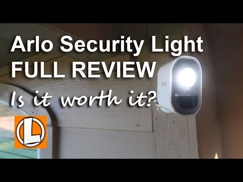 Arlo Security Light Review - Unboxing, Features, Setup, Settings, Installation, Test Footage