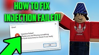 *WORKS* HOW TO FIX INJECTION FAILED FOR EXPLOITS! ERROR FIX | HOW TO FIX EXPLOIT NOT POPPING UP!