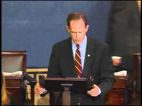 Sen. Toomey speaks on Senate floor about his Ex-Im amendment