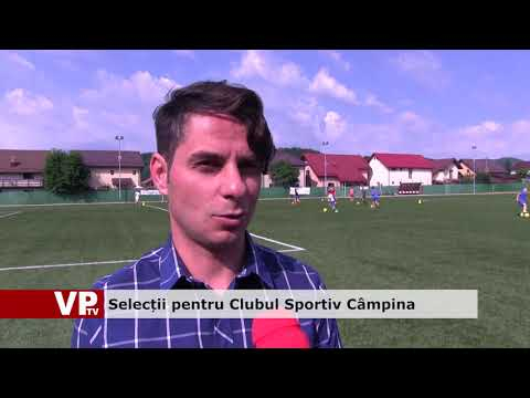 Selecții pentru Clubul Sportiv Câmpina