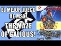 El Mejor Juego De Msx The Maze Of Galious 1987 msx Retr