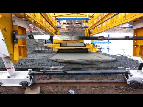 Canal Slope Paving Machine