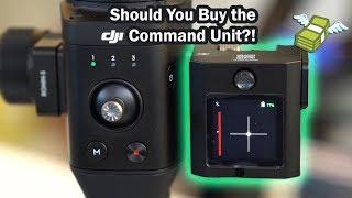 Should You Buy the DJI Ronin S Command Unit?