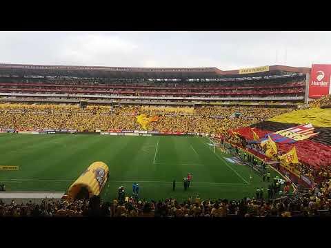 """""""Esta hinchada ya te lo demostró, que en las malas nunca te abandonó"""" Barra: Sur Oscura • Club: Barcelona Sporting Club • País: Ecuador"""