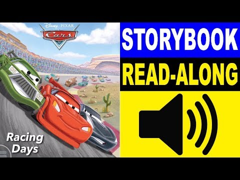 Cars Read Along Story Book | Cars - Racing Days | Read Aloud Story Books For Kids