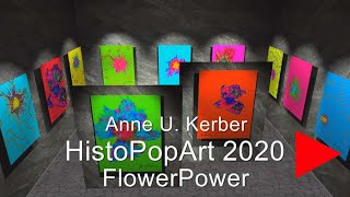 HistoPopArt Flower Power