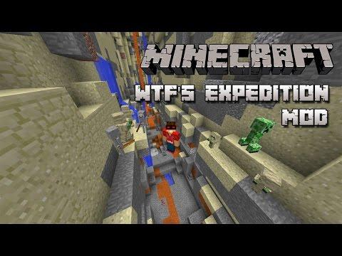 Minecraft | MOD DE EXPLORACION -  WTF's Expedition Mod Español!