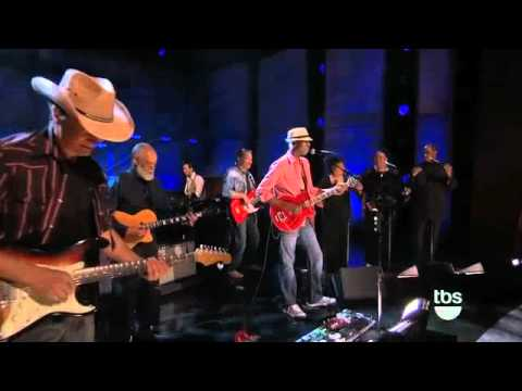 Vail Johnson, Keb Mo and David T Walker on Conan O'Brian show
