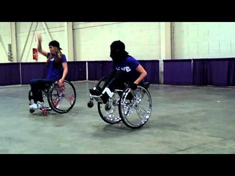 Screenshot of video: Colours Wheelchair Hip Hop Dance Crew