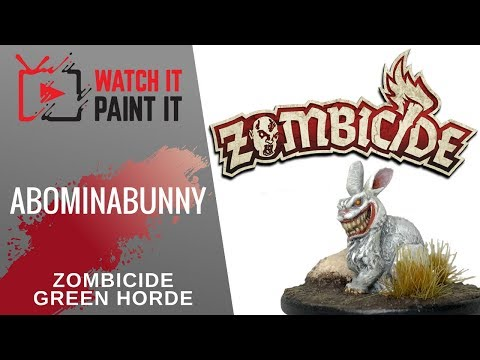 Zombicide Green Horde - Painting Abominabunny