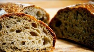 【面包食验】天然酵母法式乡村面包Sourdough French Country Bread