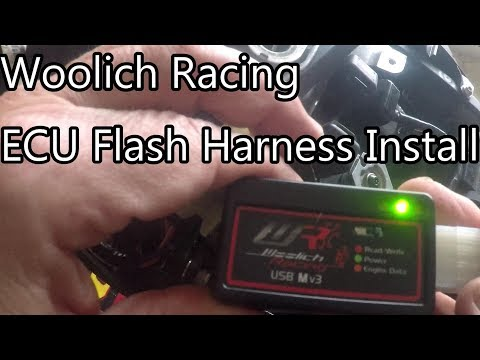 Kawasaki ZX10R Full Custom ECU Mapping using Woolich Racing Software