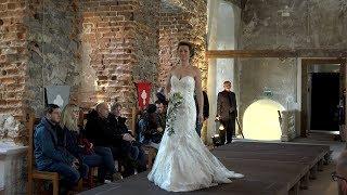 Modenschau von Brautmoden Grimma zur Hochzeitsmesse auf Schloss Trebsen