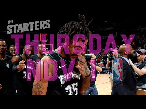 NBA Daily Show: Nov. 1 – The Starters