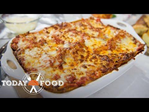 Al Roker's Original Vegetarian Lasagna Recipe: It's So Good! | TODAY