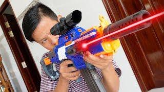 LASER GUN BATTLE