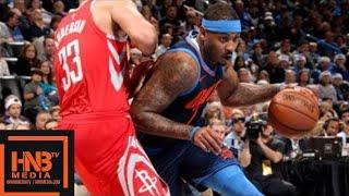 Oklahoma City Thunder Vs Houston Rockets Penuh Permainan Highlights / Minggu 11/25 Des