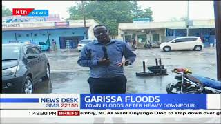 Garissa floods after heavy downpour