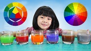 Bé Học Cách Pha Màu Sắc Như Họa Sĩ ❤ AnAn ToysReview TV ❤