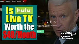 Is Hulu Live TV Worth the $40 a Month? I Install on Different Platforms to Test