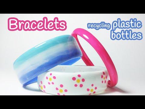 DIY náramok recykláciou z PET fľaše