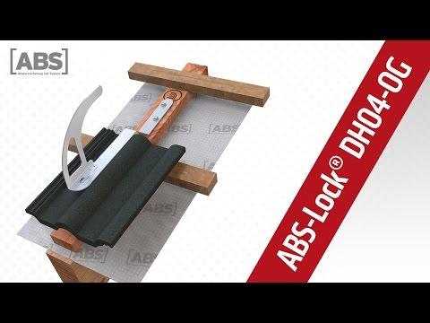 Absturzsicherung: Leiterhaken & Anschlagpunkt ABS Lock DH04-OG