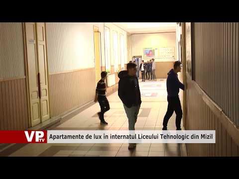 Apartamente de lux în internatul Liceului Tehnologic din Mizil