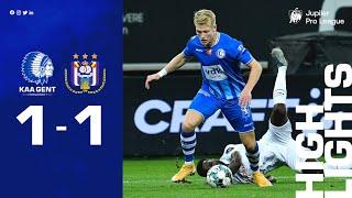 ? KAA Gent - RSC Anderlecht: 1-1 (MD 12⎢20-21)