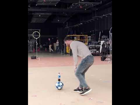 Lionel Messi Bottle Flip Pepsi Advert