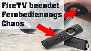 FireTV Stick mit Infrarot steuert TV und AV Receiver! Kein Fernbedienungs-Chaos mehr!
