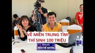 Thách Thức Danh Hài 6 đã tới miền Trung để kiếm thí sinh 100 triệu!!!