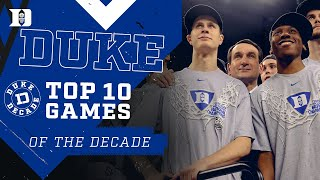 Best of the Decade: Top 10 Games of 2010s #DukeDecade
