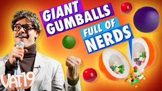Video for Giant Gumballs filled with Nerds