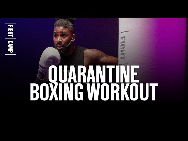 15 MINUTE AT HOME BOXING WORKOUT NO EQUIPMENT NEEDED