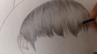 방탄소년단 BTS - 정국 jungkook speed drawing
