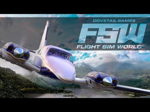 Flight Sim World - Announcement Trailer thumbnail