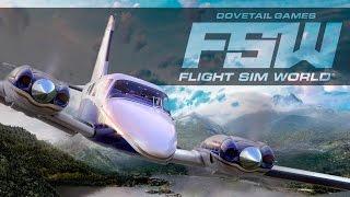 סימולטור חדש- Flight Sim World