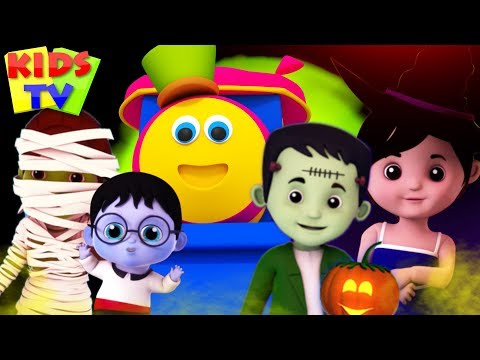Halloween Finger Family | Stories for Kids & Halloween Music | Cartoon Shows