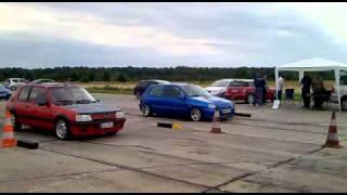 French Days 2010 Clio 16v Grand Prix Vs 205 Gti