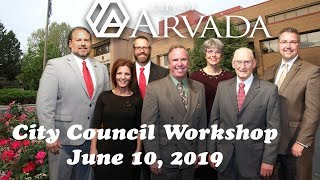 Preview image of City Council Workshop June 10, 2019