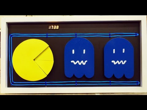 Build Your Own Pac-Man Ghost-Chomping Clock