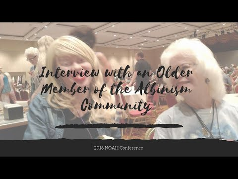 Journey to NOAH Con 2016 :: Meeting Seniors with Albinism & What Honey Taught Me.