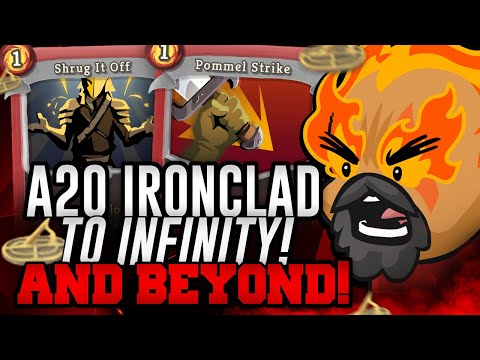 To Infinity! AND BEYOND! | Ascension 20 Ironclad Run | Slay the Spire