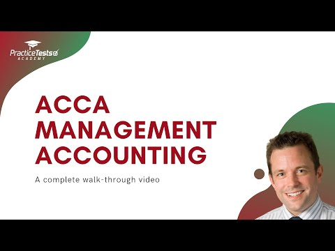 All you need to know about ACCA MA exam | ACCA Management ...