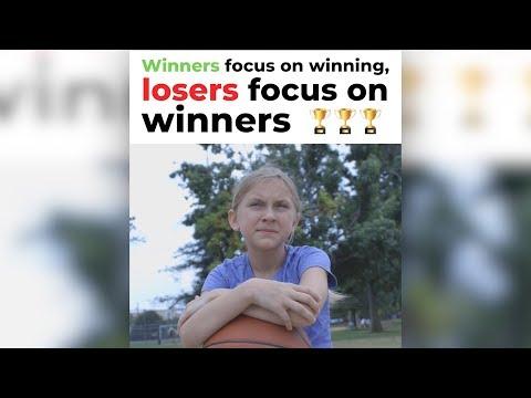 Winners Focus on Winning, Losers Focus on Winners   by Jay Shetty