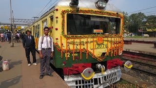 preview picture of video '[IRFCA] Indian Railways Celebrating|60th Glorious Years|Suburban Service|Kolkata'