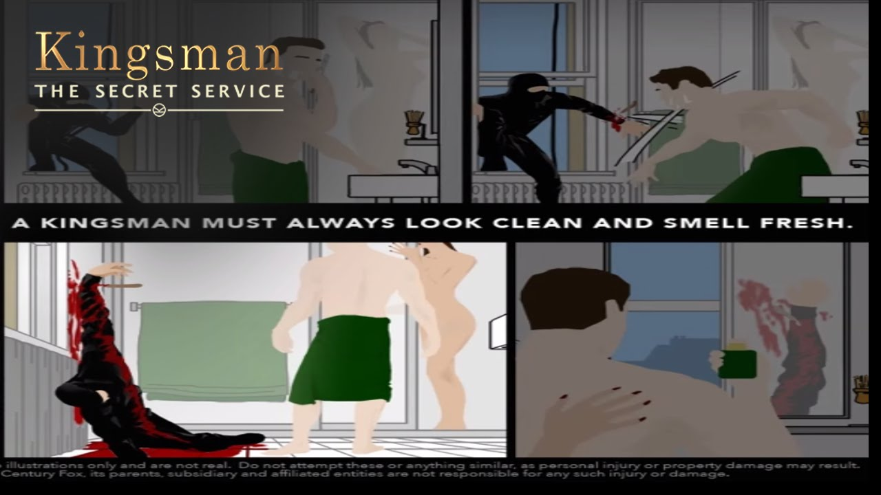 The Kingsman Way - A Lesson In: Smelling Blood