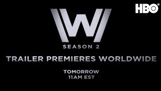 Westworld Season 2 | Official Trailer Announcement | HBO