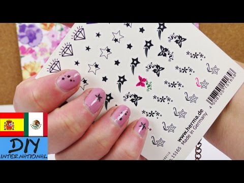 Nail Tattoos | Stickers para las uñas